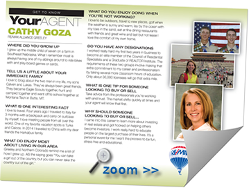 Getting to Know Cathy Goza