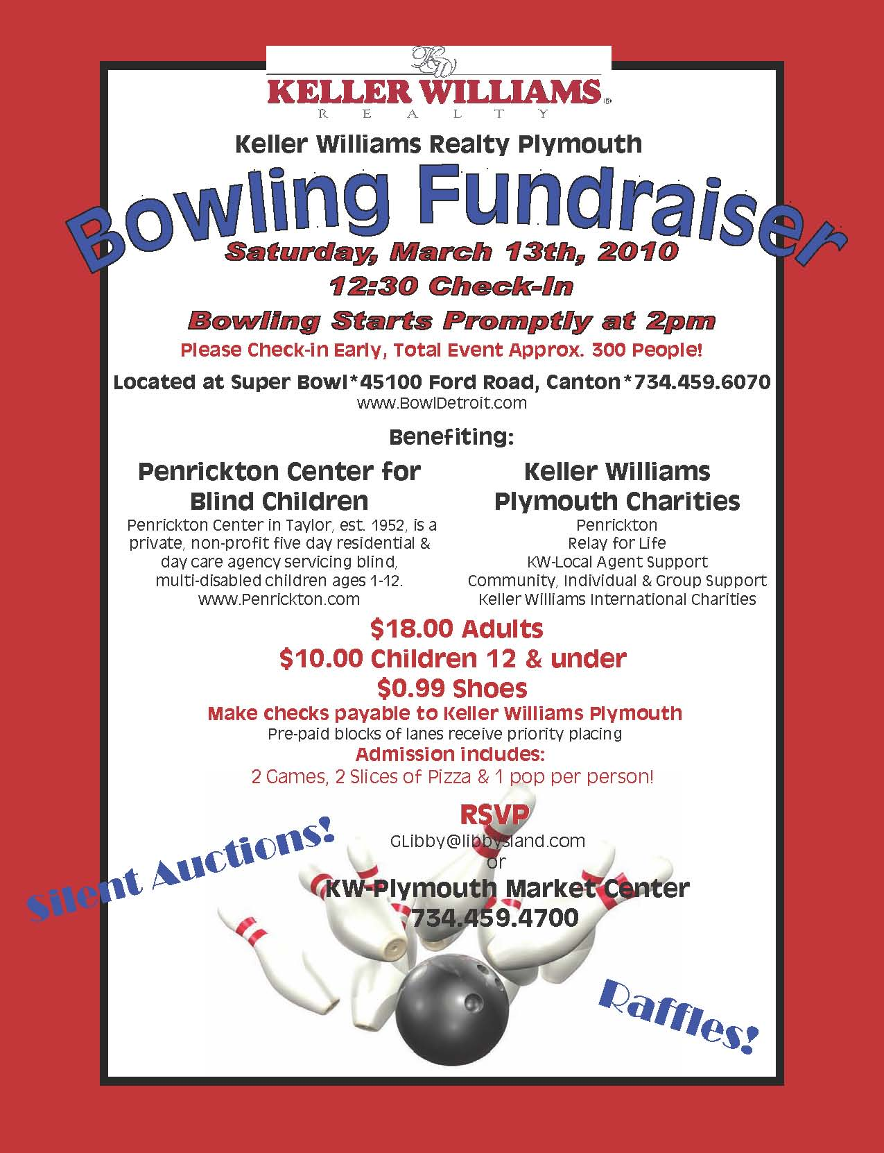 metro detroit michigan special events charity bowling fundraiser