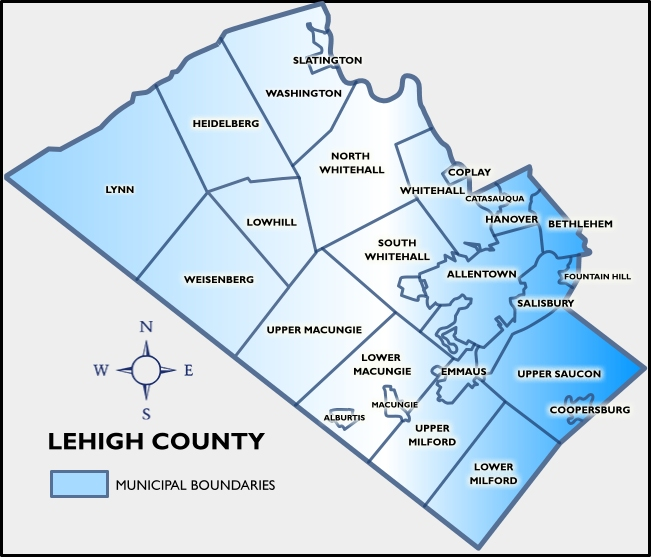 Lehigh Valley Zip Code Map.Schhol District Maps Lehigh Valley Homes Pocono Homes Mls Search