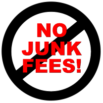 No junk Real Estate Fees