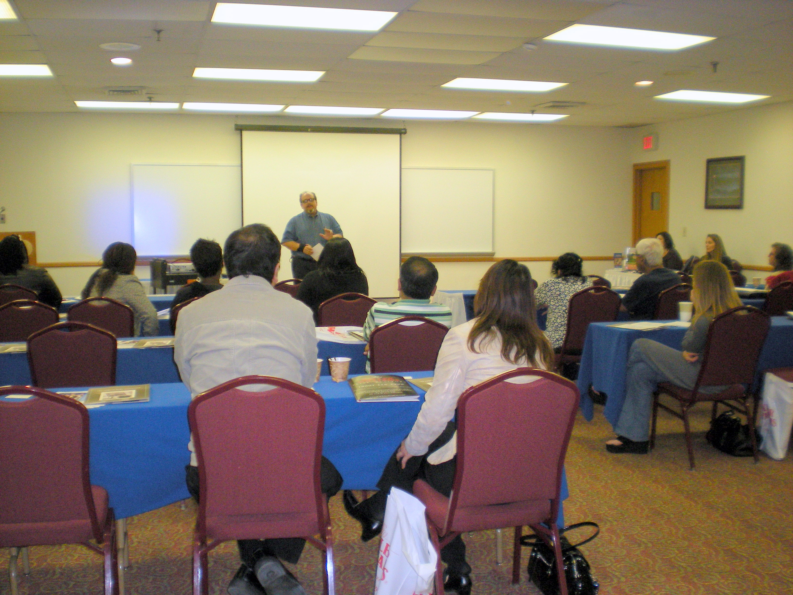 Home seminar at the Days Inn Hotel