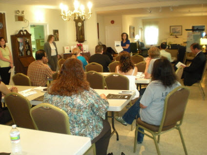 Home seminar at the Danish Home in Edison