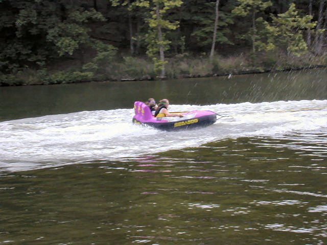 Tubing on the Lake!