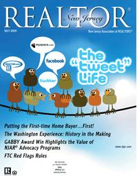 "Rom Chaudemanche Featured in the ""tweet life"" in New Jersey Realtor Magazine"