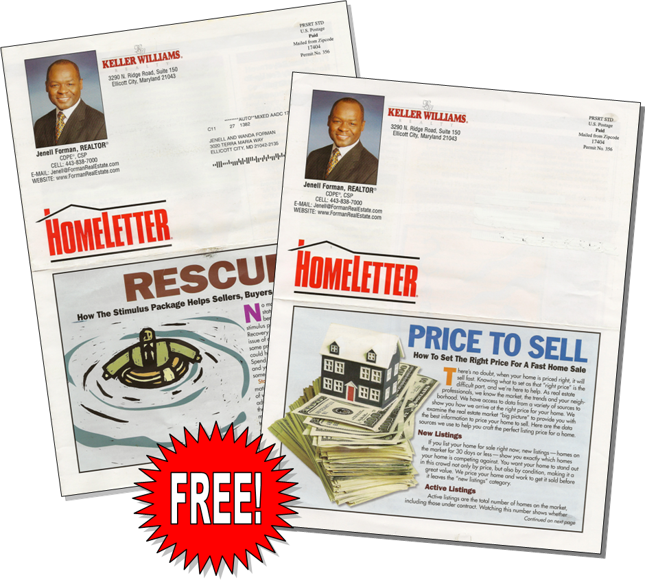 Get Your Free Newsletter Today!